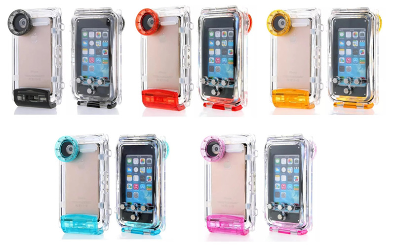 underwater housing waterproofing bag for Iphone 5 5s 5c