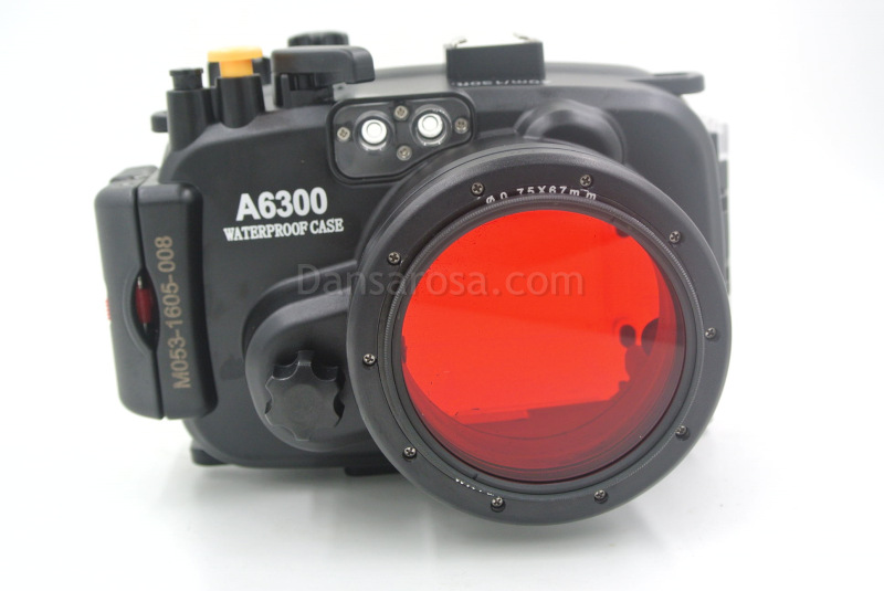 Red filter for Sony A6300