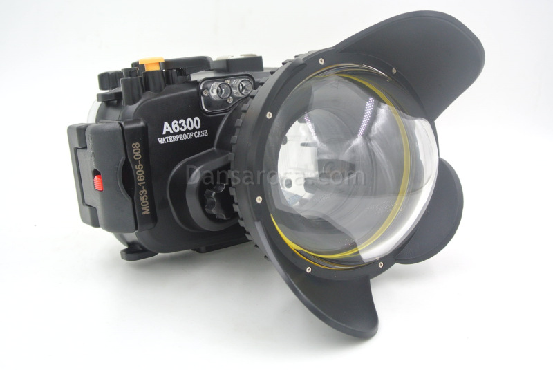 A6300 housing connect fisheye dome
