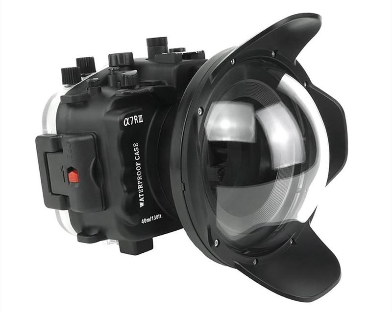 Sony A7III/A7R-III waterproof case dry dome port