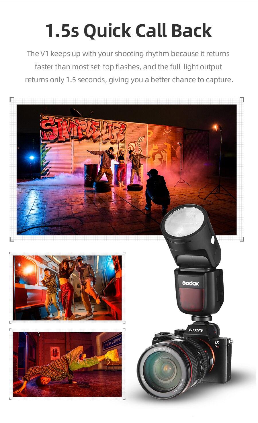 Godox V1 flash speedlight