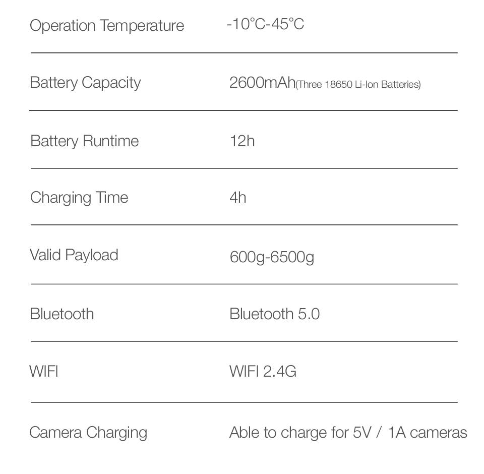 ZHIYUN crane 3S-E 3-Axis handheld stabilizer camera gimbal