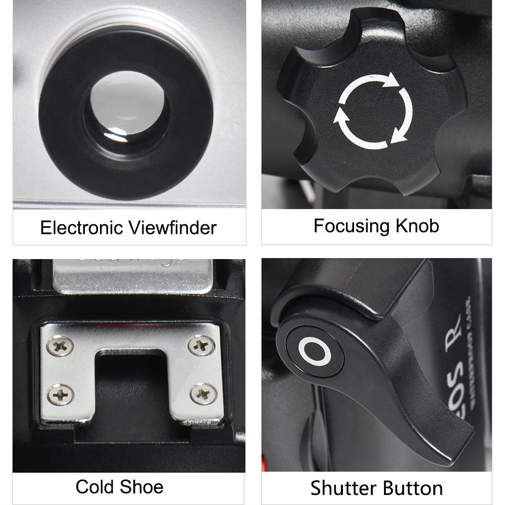 Canon EOS R underwater housing details