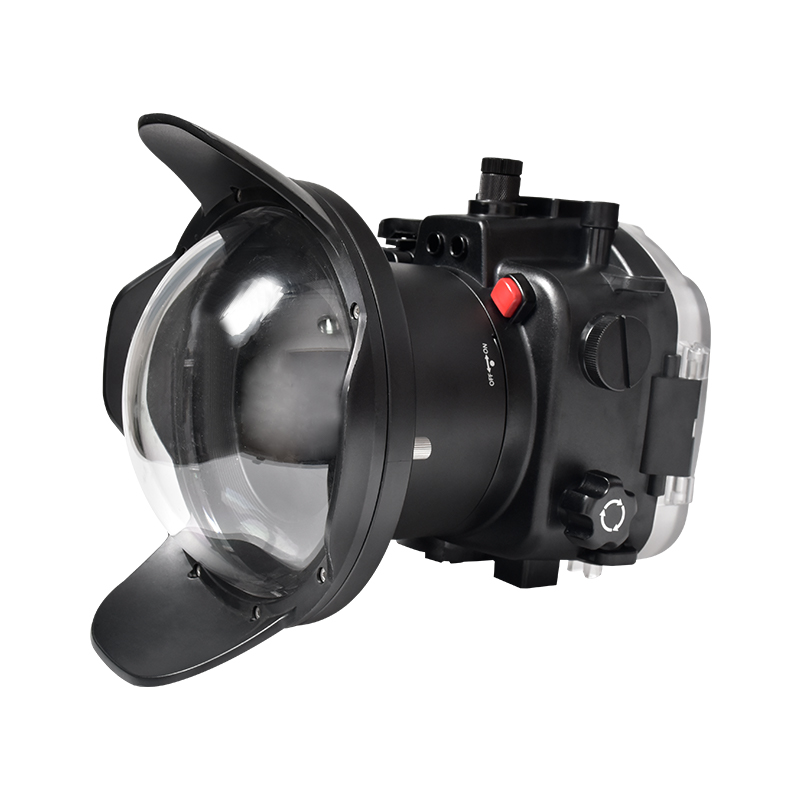 dry lens dome for Sony A7S III underwater housing waterproof case