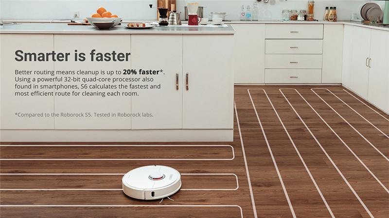 Xiaomi youpin roborock S6 robot vacuum cleaner