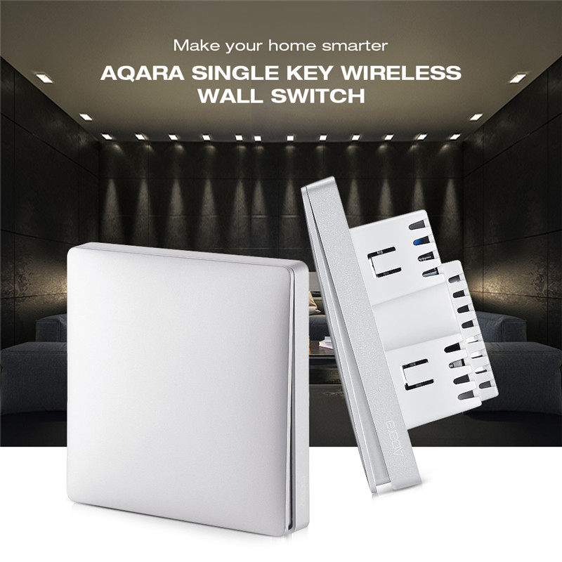 Aqara Wall Intelligent Voice Light Control Home Switch Panel