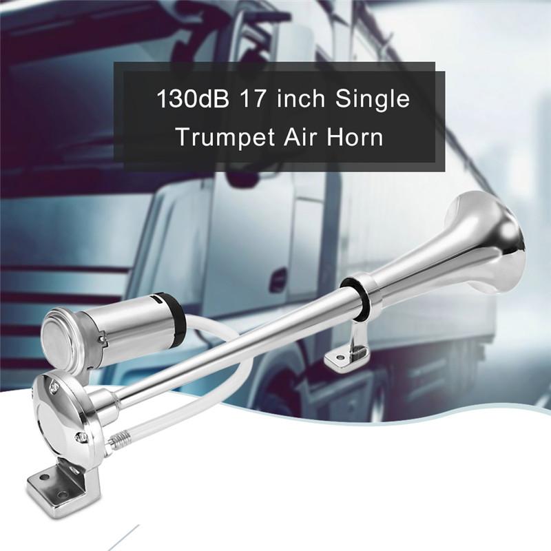 130dB single trumpet DC 12V vehicle air horn