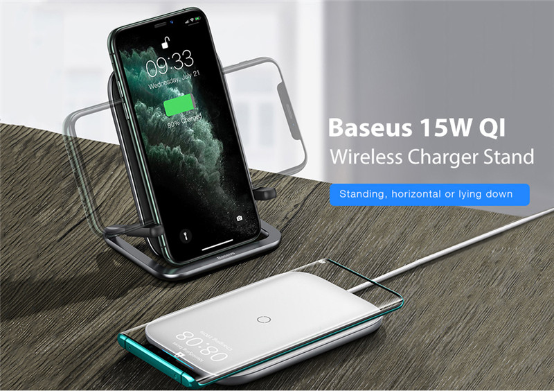 Baseus 15W QI Wireless Charger Stand