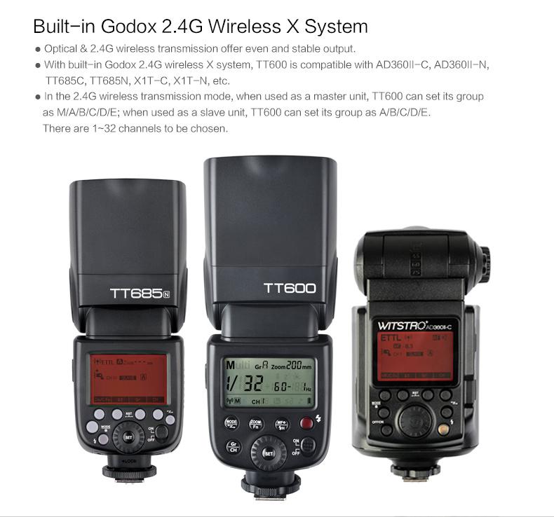 Godox TT600 Flash Speedlite