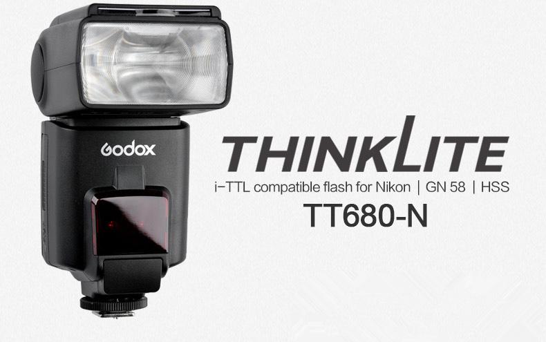 Godox TT680N Nikon i-TTL Autoflash