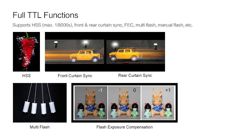 Godox TT685S TTL flash speedligte for Sony DSLR