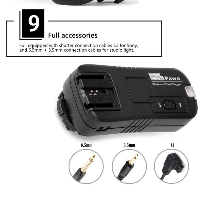 Pixel Pawn TF-363 Wireless Flash Trigger