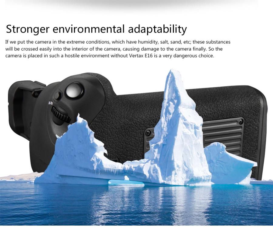 Pixel Vertax E16 Battery Grip for Canon EOS 7D Mark II