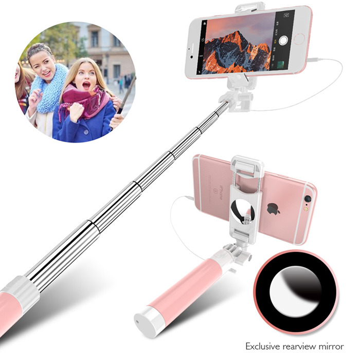 Luma Mini Selfie Stick Handheld Monopod For Iphone & Android Cellphone