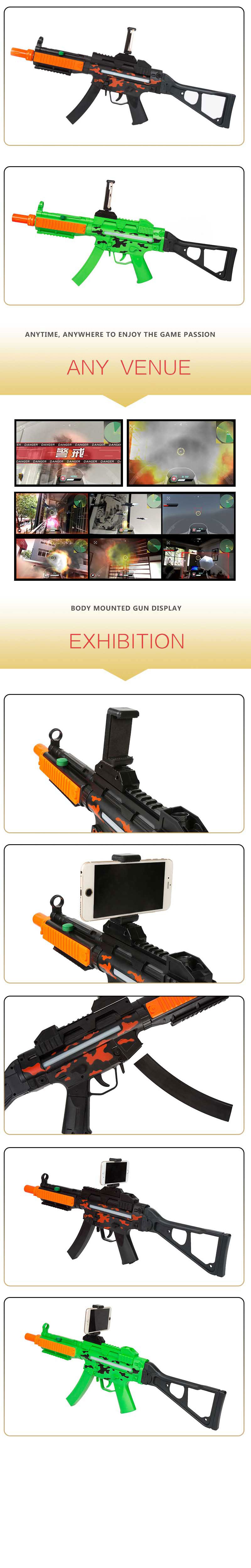 Portable Bluetooth AR-Gun 3010 VR Games Toys for Android iOS iPhone Phones