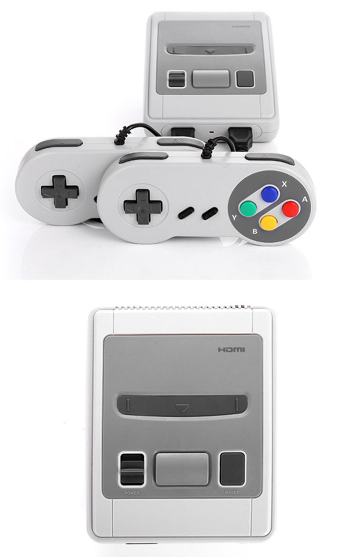 Mini HDMI TV Handheld Video Game Console Built-in 621 Classic NES Games