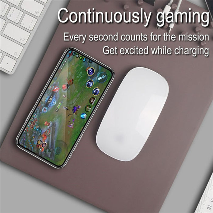 Qi Wireless Charger Charging Holder Mouse Pad