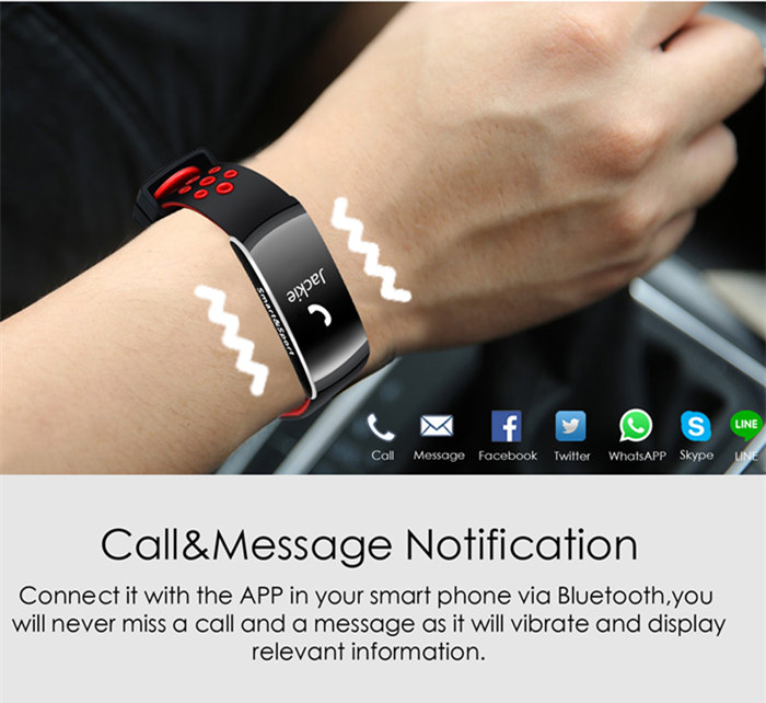 Q8 Waterproof Smart Bracelet Bluetooth Wristband Smartband For Android iPhone
