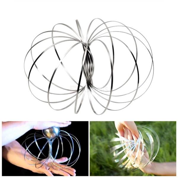 Toroflux Flow Ring Toys Kinetic Spring