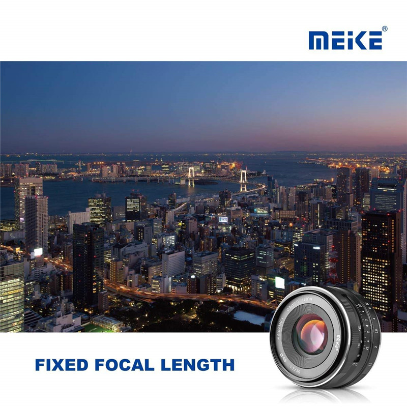 Meike 35mm F1.7 Large Aperture Manual Prime Fixed Lens APS-C for Sony