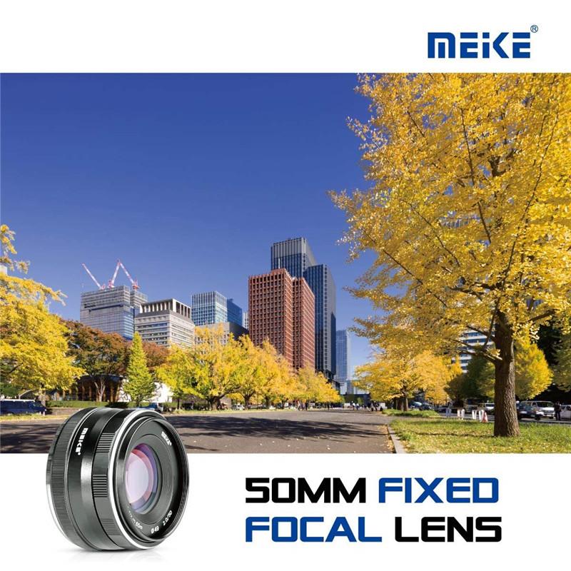 Meike 50mm f/2.0 Fixed Manual Focus Lens for Fujiflim