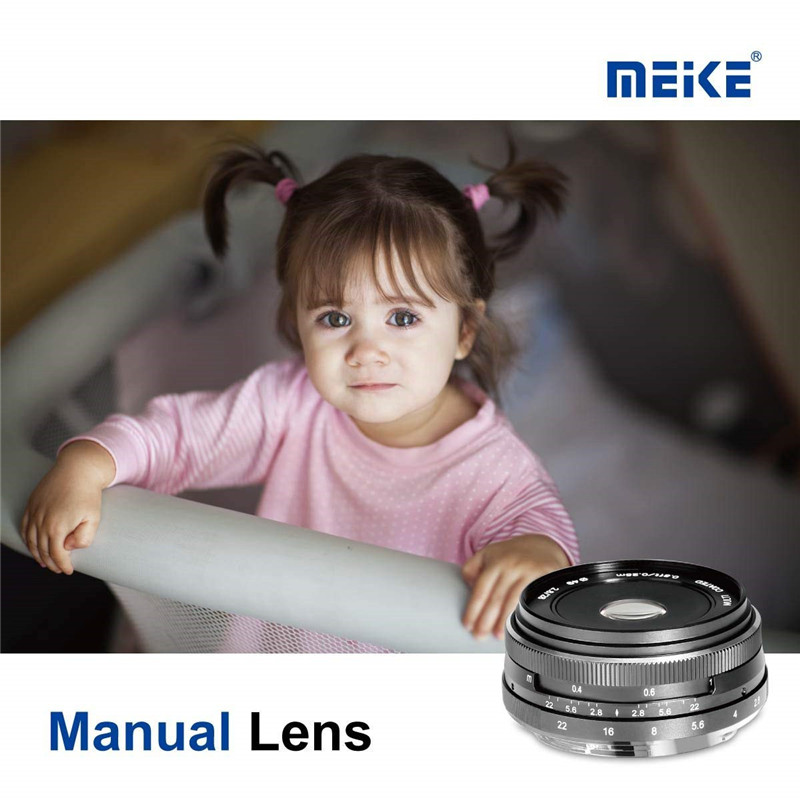 Meike 28mm f2.8 Fixed Manual Focus Lens for Sony