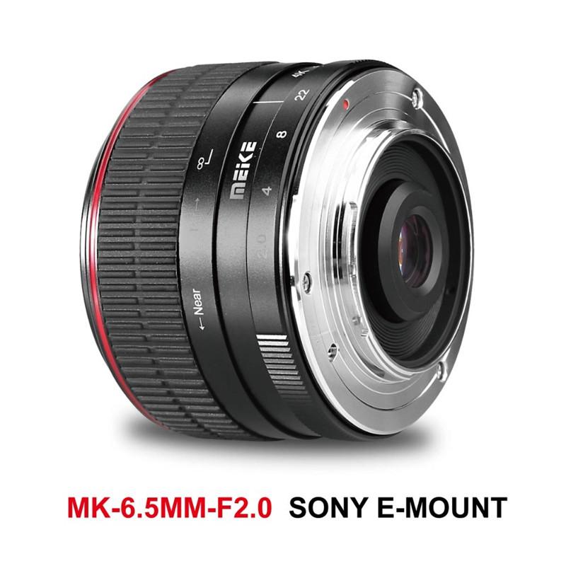Meike 6.5mm f/2.0 Ultra Wide Fisheye Lens For Sony