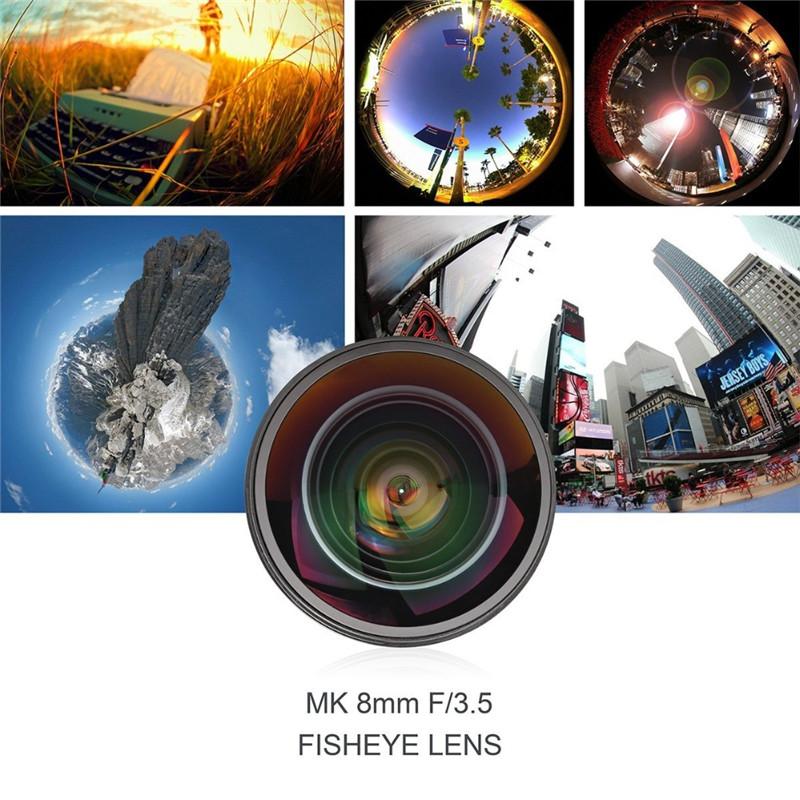 Meike 8mm f3.5 Fisheye Lens For Fujifilm X Mount Mirrorless APS-C Camera