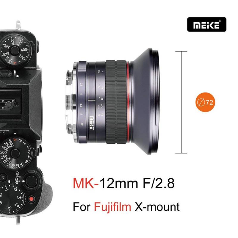 Meike 12mm f2.8 Ultra Wide Angle Fixed Lens Fujifilm Camera