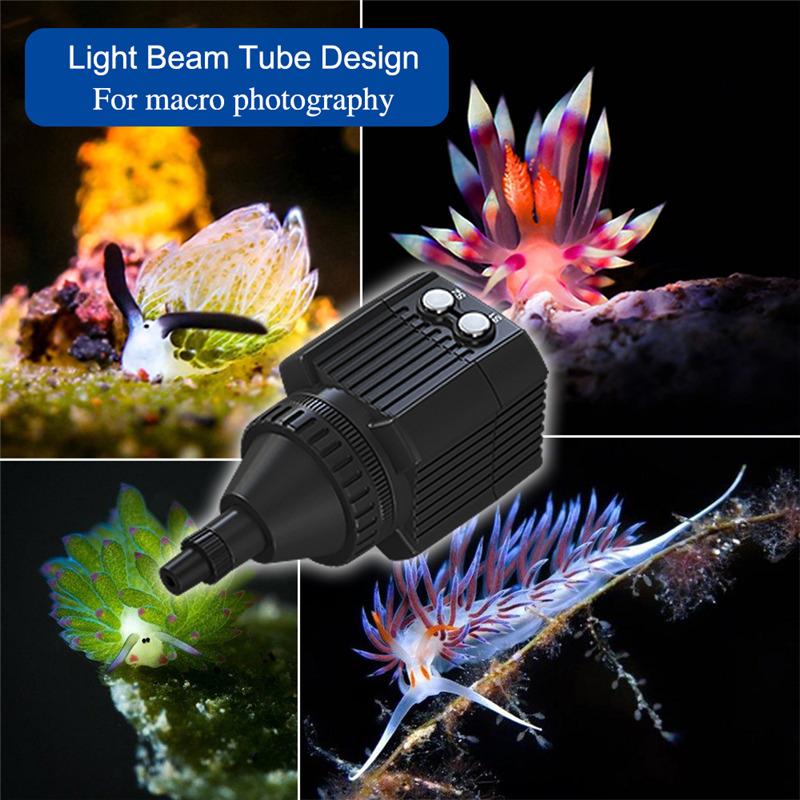 60M Waterproof Meikon Underwater Diving LED Flashlight