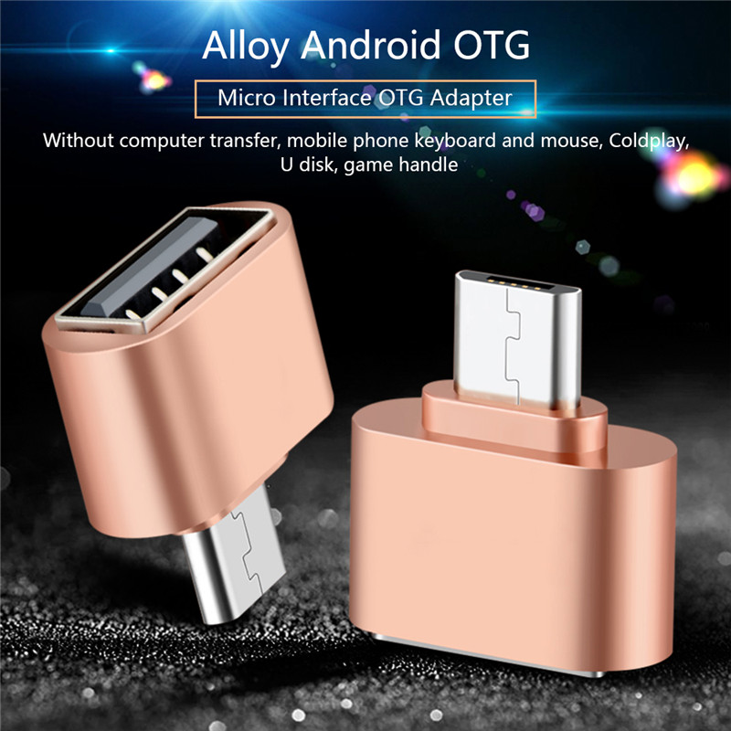 OTG Cable Adapter Micro USB Converter To USB port Mobile Phone
