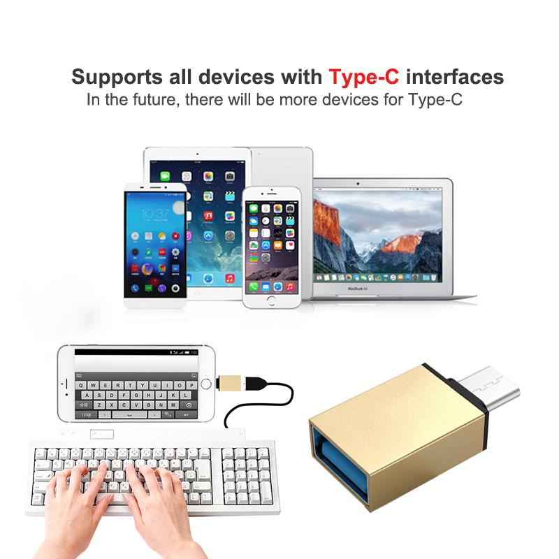Type C to USB 3.0 OTG Adapter Converter