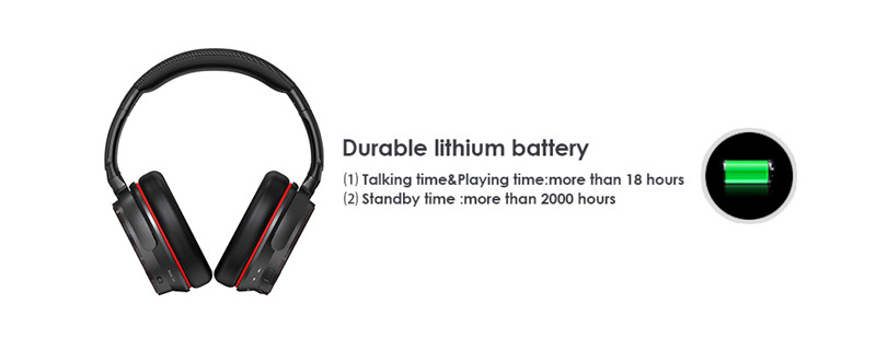 ANC7S Active Noise Cancelling Wireless Headphones Bluetooth Headset