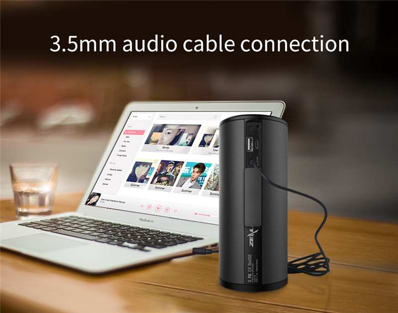 ZEALOT S8 Outdoor 3D Stereo HiFi Bluetooth Wireless Speakers