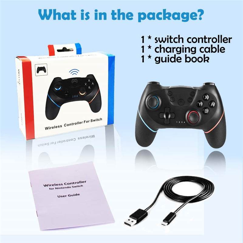 wireless gamepad video game controller For nintendo switch