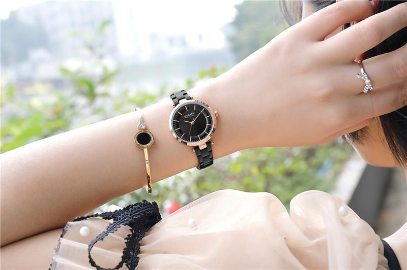CURREN 9054 women quartz watch bracelet watches