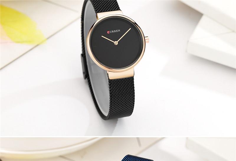 CURREN 9016 women quartz watch bracelet watches