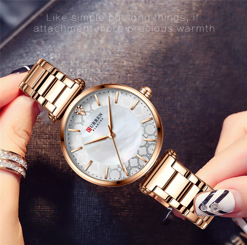 CURREN 9072 women quartz watch lady bracelet watches