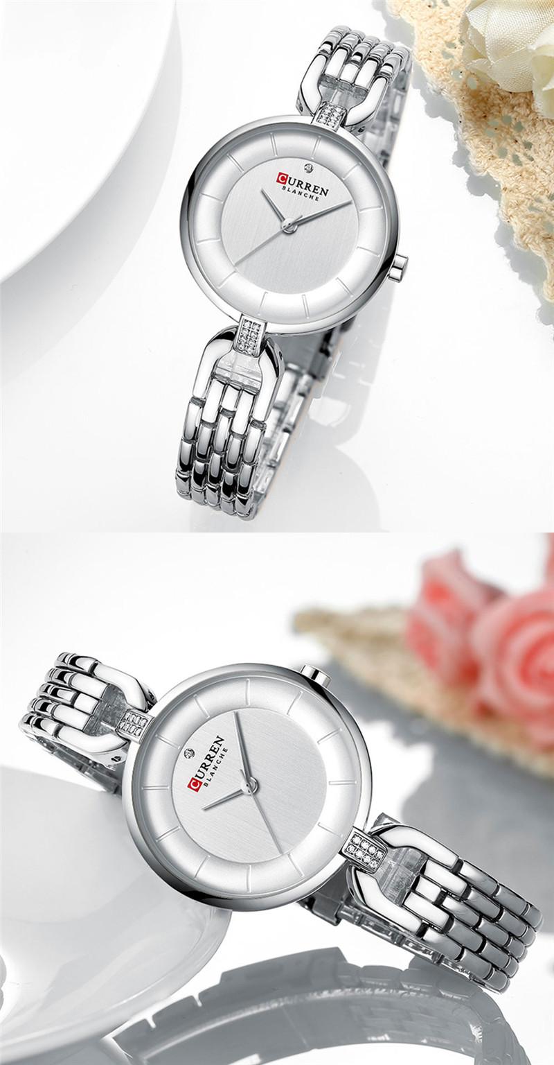 CURREN 9052 women quartz watch lady bracelet watches