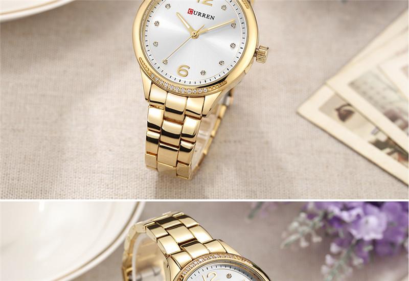 CURREN 9003 women quartz watch lady bracelet watches