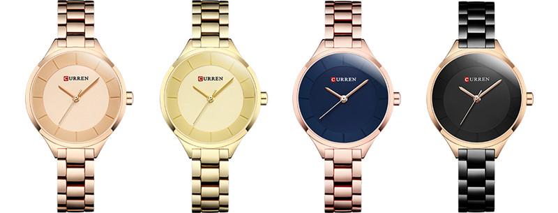 CURREN 9015 women quartz watch lady bracelet watches