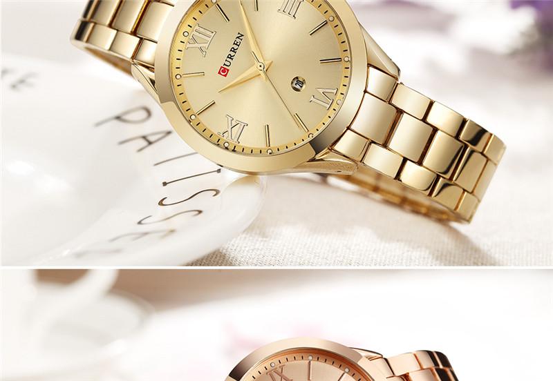 CURREN 9007 women quartz watch lady bracelet watches