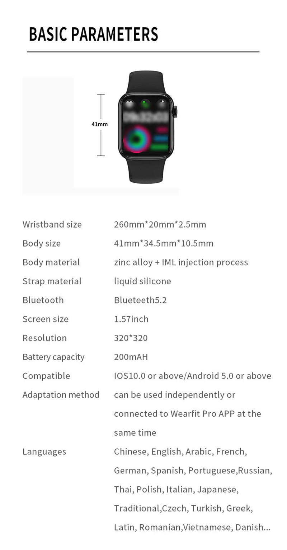 HW12 full screen smart watch women smartwatch