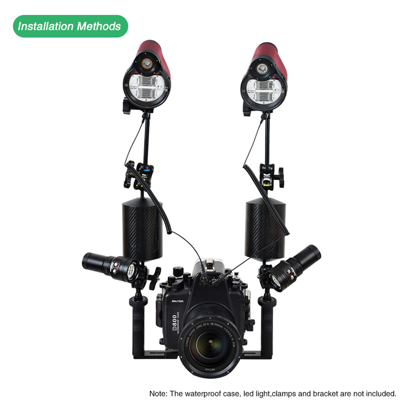 SeaFrogs ST-100 pro strobe for underwater camera housing