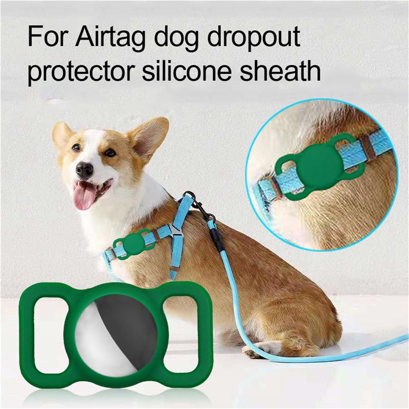 cartoon keychain protective sleeve for airtag
