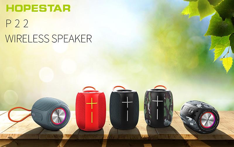 HOPESTAR-P22 wireless waterproof portable bluetooth speaker