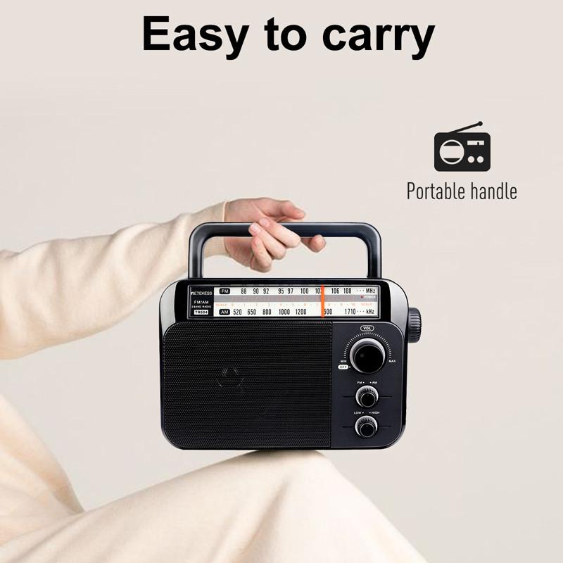 retekess TR604 AM FM portable radio
