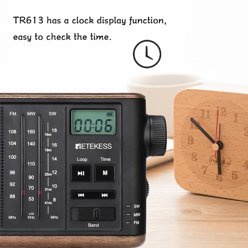Retekess TR613 AM FM SM portable radio