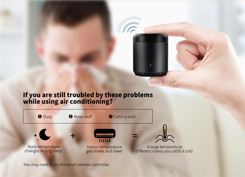 Broadlink RM Mini 3 WIFI 4G IR Remote Controller app smart home