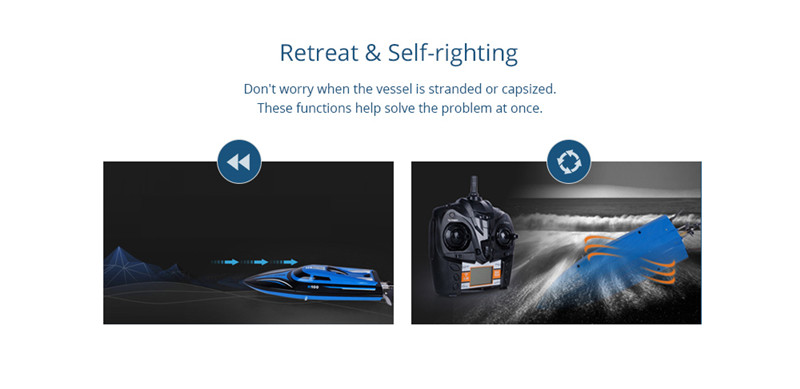 Skytech H100 2.4GHz 4-channel High Speed RC Boat